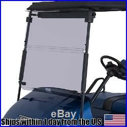 Golf Cart Tinted Windshield Fits EZGO TXT Medalist 1994-2013