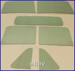 Green Tint Glass Chevy GMC Pickup 1951 1952 1953 Windshield Vent Door Back
