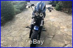 Harley-Davidson FXDF Fat Bob Manta Dart Manta Flyscreen Midnight Tint 2008-17