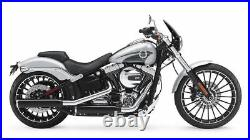 Harley-Davidson FXSB Breakout (2013+) Dart Classic Flyscreen in Dark Tint