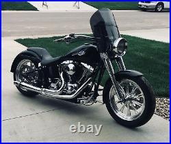 Harley Davidson Heritage/FatBoy shorty 15 Lexan polycarb. Dark tint windshield