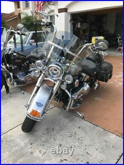 Harley Davidson Heritage/FatBoy shorty 15 Lexan polycarb. Light tint windshield