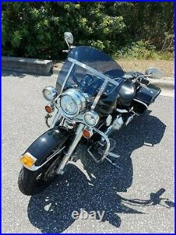 Harley Davidson Road King DARK tint windshield MINI height 12 polycarbonate