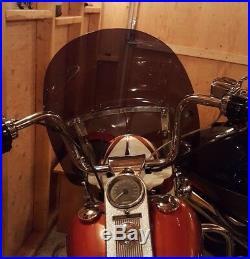 Harley Davidson Road King DARK tint windshield OEM height 19 Lexan polycarb