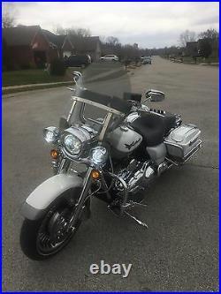 Harley Davidson Road King windshield light tint OEM height 19 Lexan polycarb