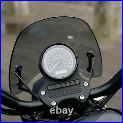 Harley-Davidson XL1200C Sportster Dart Classic Flyscreen in Dark Tint