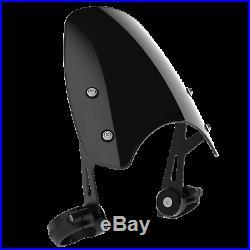 Honda CMX500 Rebel Dart Classic Flyscreen Windscreen in Midnight Tint