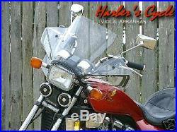 Honda V45 V65 VF 700 750 1100 C Magna S28T Tinted Sport Fairing / Windshield