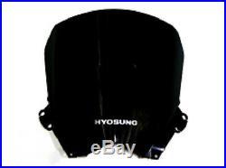 Hyosung Windshield Windscreen ATK GT650R GT250R Black 2013 2014 2015 Dark Tinted