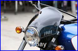 Indian Motorcycle Dark Tint 1901 Low Fly Windscreen For 2016-2021 Scout Models