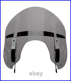 Indian Motorcycle Quick Release 14 In Tinted Flare Windshield For Springfield
