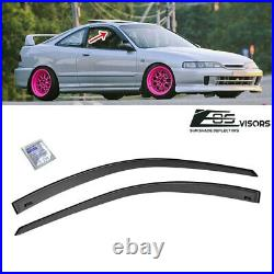 JDM SMOKE TINTED Side Vents Sun Shade Deflectors For 94-01 Acura Integra DC2