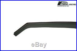JDM SMOKE TINTED Side Vents Sun Shade Window Deflectors For 15-Up Acura TL-X