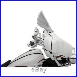 Klock Werks 11.5 Tint Flare Batwing Windshield For Harley FLHT FLHX 96-13