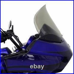 Klock Werks 14 Light Tint Flare Windshield Harley Road Glide Bagger FLTR 2013