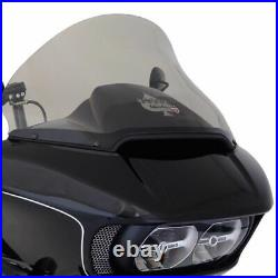 Klock Werks 15 Light Tint Pro Touring Flare Windshield Harley Road Glide 15-2020
