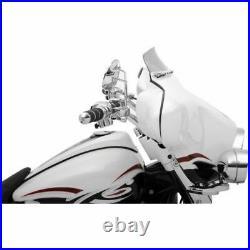 Klock Werks 3.5 Tint Short Flare Windshield Batwing Bagger Harley Touring 96-13