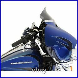 Klock Werks 5 Dark Smoke Tint Flare Windshield Batwing Harley Touring 2014-2020