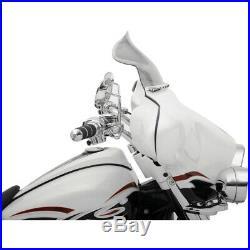 Klock Werks 8.5 Tint Flare Batwing Windshield For Harley FLHT FLHX 96-13