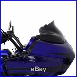 Klock Werks 8 Black Tint Flare Windshield Wind Screen Harley Road Glide Touring