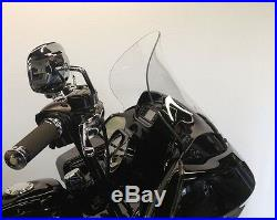 Klock Werks Flare 14 Tint Tinted Windshield 98-13 Harley Road Glide FLTR FLTRX