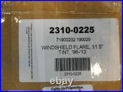 Klock Werks KW05-01-0205 10.5in. Flare Windshield, Tint