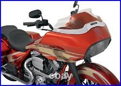Klock Werks Tint 8 Flare Windshield Harley Touring 98-13 FLTR FLTRI Road Glide