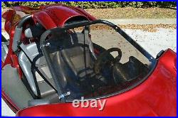 Lightly Tinted Campagna T-Rex Full Front Windshield Fits All Years