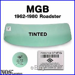 MGB, MGC Roadster 1962-80 TINTED Windshield Glass NEW PICKUP ONLY