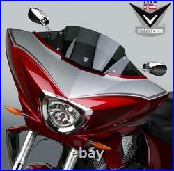 NATIONAL CYCLE FAIRING MOUNT V-STREAM WINDSCREEN DARK TINT N20702 MC Victory