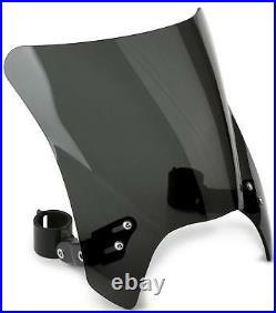 NATIONAL CYCLE MOHAWK DARK TINT BLACK HARDWARE FITS UP TO 43mm OD N2831-002