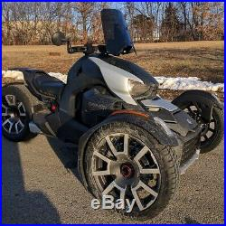 NEW 2019 Can Am Spyder RYKER 16 Tinted Shorty WIndshield Custom Made in USA