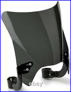 National Cycle Mohawk Windshield Dark Tint with Black Hardware N2833-002