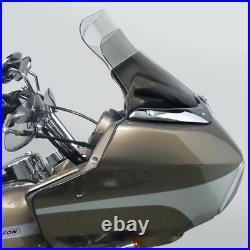 National Cycle N27406 Wave Windshield for Harley-Davidson Dark Tint