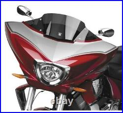 National Cycle VStream LOW 8.25 DARK TINT Windshield 10-17 Cross Country N20702