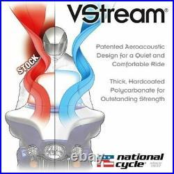 National Cycle VStream Windshield, 7.25in. /Dark Tint N20411 FLHT FLHX 14/15