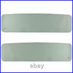 New DOT compliant Green Tinted Windshield Glass for Jeep CJ5 & CJ6 1968-1975