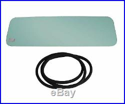 New Green Tinted Windshield Glass with Gasket Seal Kit For Jeep CJ7 1976-1986