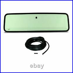 New Green Tinted Windshield Glass with Seals Kit For Jeep Wrangler 1987-1995