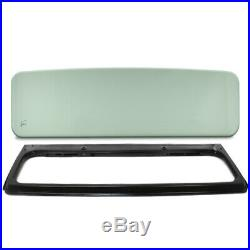 New Green Tinted Windshield Glass with Steel Frame For Jeep CJ7 1976-1986