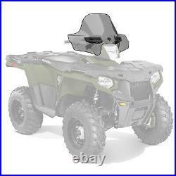 Polaris New OEM ATV Smoke Tinted Lock & Ride Windshield, Sportsman, 2880540-412