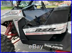 Polaris RS1 Door Kit, Tinted Polycarbonate Doors 2018-2019 UTVZILLA