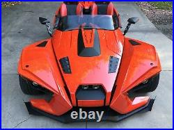 Polaris Replacement Slingshot Tint PLUS 3 Motorcycle Windshield by F4 Customs