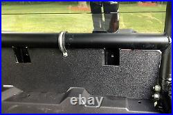Polaris Rzr Xp 1000 3/16 Dark Tinted Rear Panel Windshield Kit 40011dt Xtreme