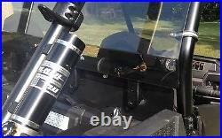 Polaris Rzr Xp 4 Seater 1000 900 3/16 Smoke Tinted Rear Panel Windshield Kit