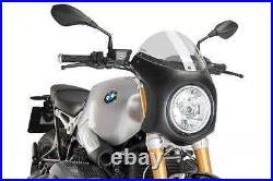 Puig BMW R Nine T Semi Race Fairing Light Tint Screen