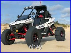 RZR RS1 Half Windshield TINTED GP Polycarbonate