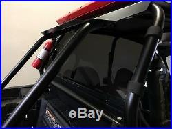 RZR Rear Windshield WIndow. Dark Tint Polycarbonate Polaris RZR XP 1000, TURBO