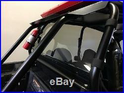 RZR Rear Windshield WIndow. Light Tint Polycarbonate Polaris RZR XP 1000, TURBO