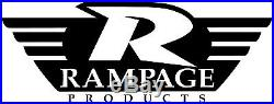 Rampage Frameless Tinted Soft Top & Header Channel For 04-06 Jeep Wrangler LJ